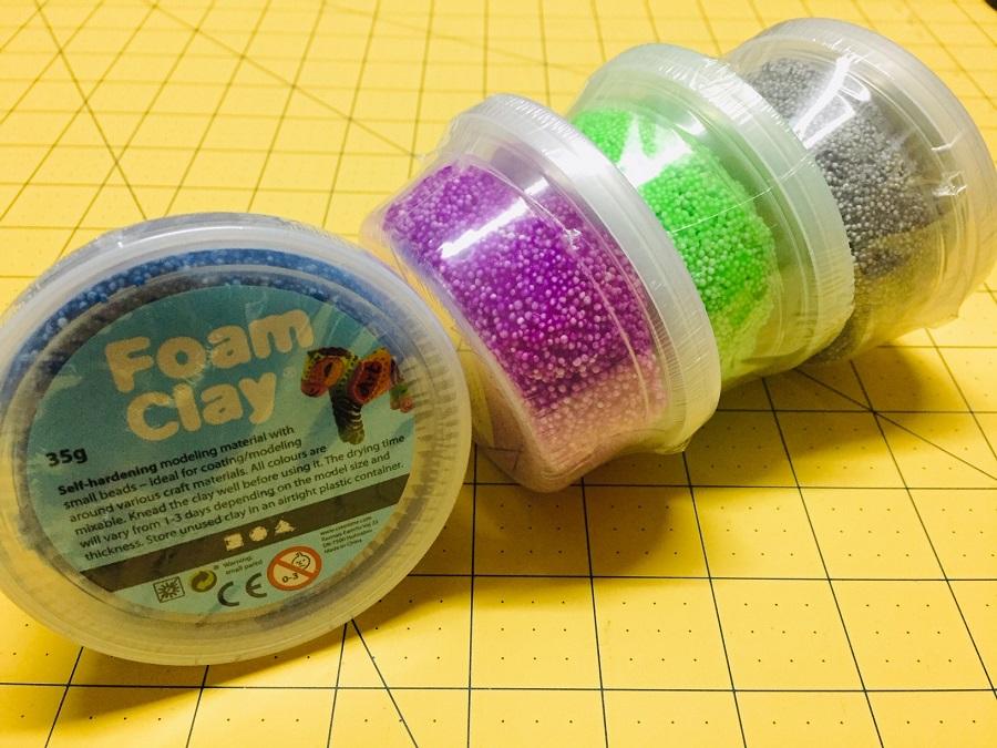 Foam Clay pasta para modelar para manualidades infantiles