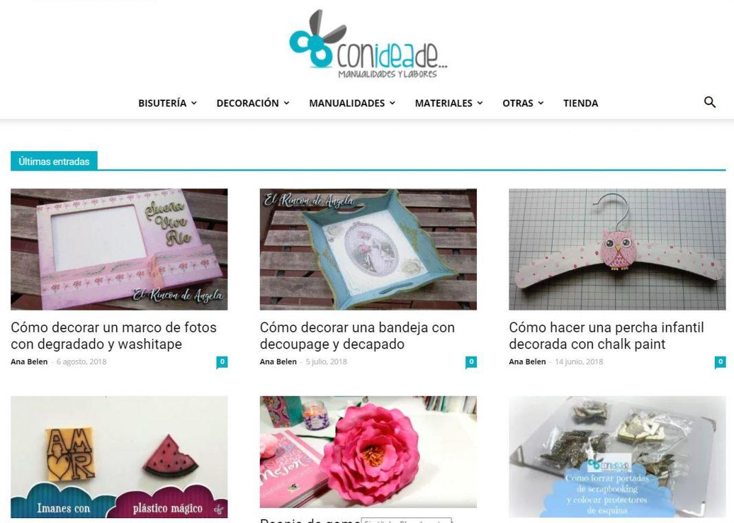 blog de manualidades conideade