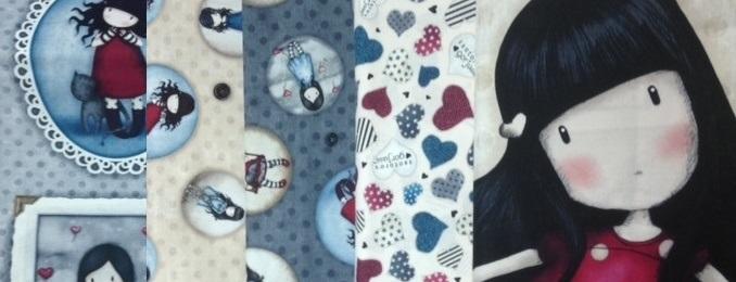 Colección de telas Gorjuss para patchwork, manualidades y labores