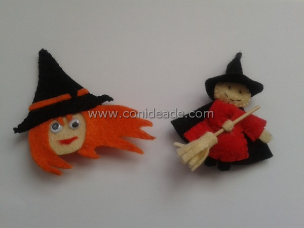 Broches brujas