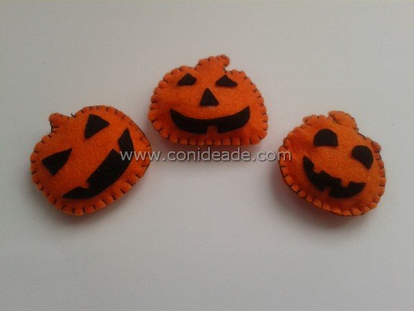 Broches calabaza