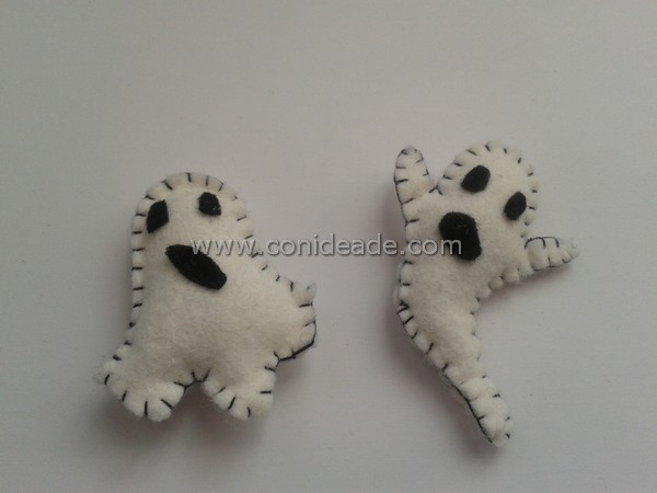 Broches de fantasmas