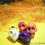 Cuentas calaveras - Material para manualidades www.conideade.com