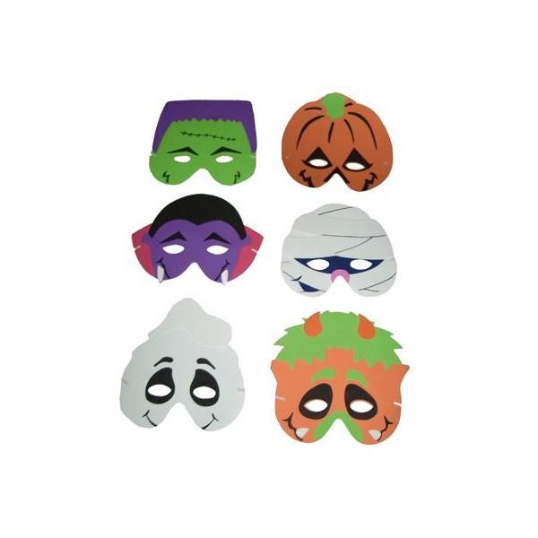 mascaras-halloween-goma eva
