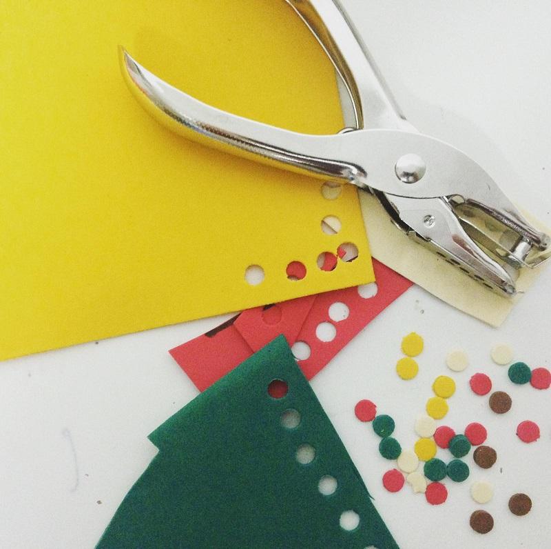 Reciclar goma eva y hacer confetti