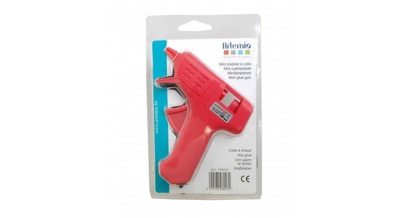 Mini pistola de silicona para pegar goma eva