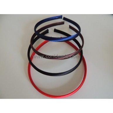 diademas forradas cintas colores
