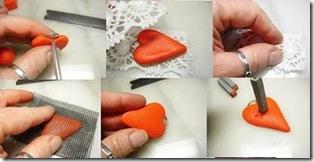 tutorial corazones de fimo 2