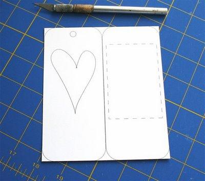 Manualidad marcapaginas patchwork 1