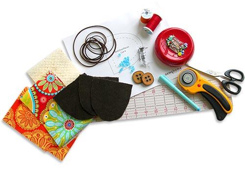 Materiales para hacer cinturon patchwork