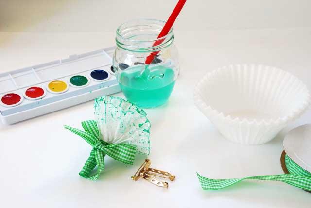 Materiales para hacer claveles manualidades