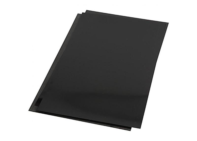 plástico mágico negro para manualidades