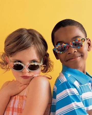 customizando gafas infantiles