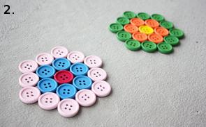 posavasos hechos con botones 2