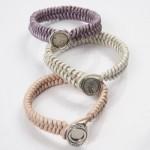 pulseras de cuero trenzado hechas a mano