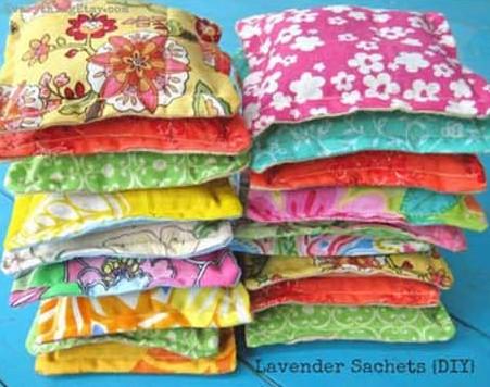 saquitos aromaticos de lavanda