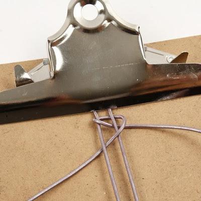 tutorial trenzado de cuerda de cuero 2