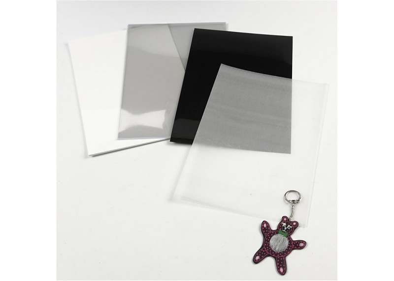 Tipos de plástico mágico para manualidades