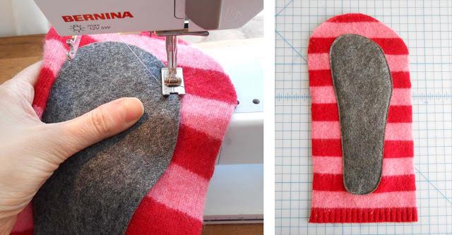 zapatillas con un jersey paso 5