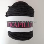 Rollo trapillo 800 gr antracita, ideal para crear bolsos, alfombras y otras creaciones