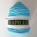 Rollo trapillo 800 gr azul turquesa