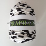 Rollo trapillo rayas blancas y negras 800 gr