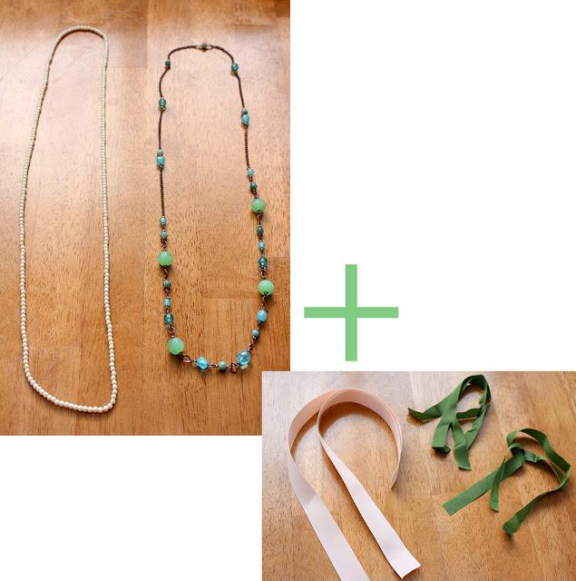 collares y cintas de lazo