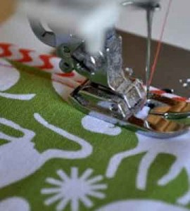 coser cinta decorativa