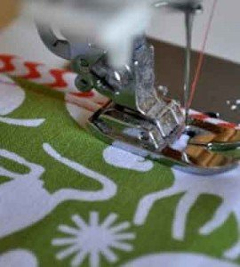 coser cinta decorativa