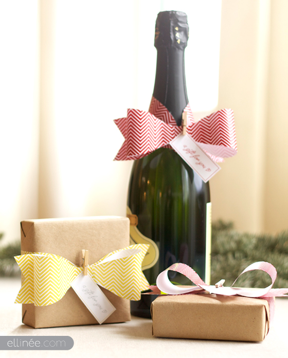 lazos de papel para decorar tus regalos