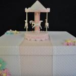 Creación Lidia García - Manualidad carrusel con pasta para modelar