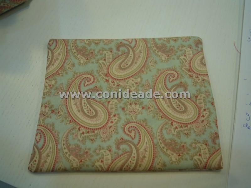 Cuadro de tela patchwork con guata dentro
