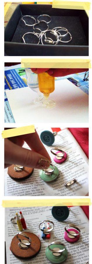 Tutorial para hacer anillos reciclando botones