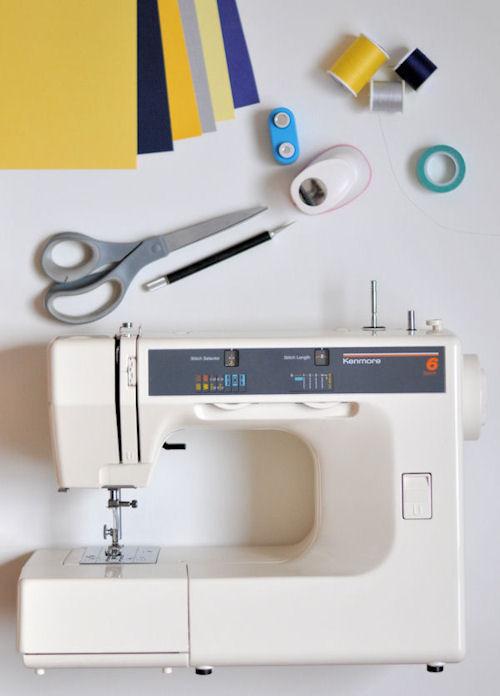 materiales para hacer guirnalda de papel