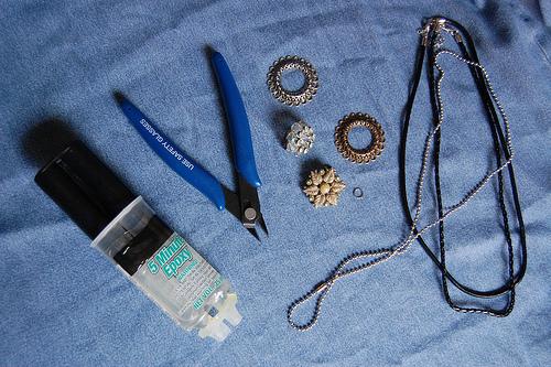 materiales para hacer un colgante