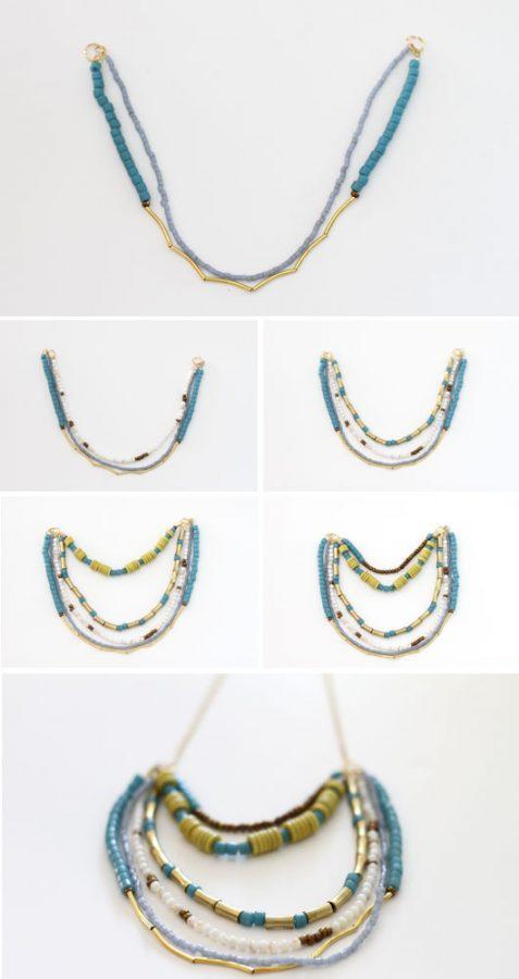 pasos para hacer un collar