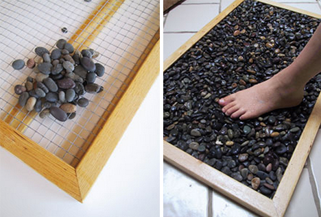Tutorial para hacer una alfombra de piedra