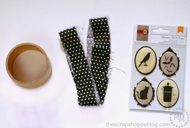 materiales para hacer un brazalete para halloween