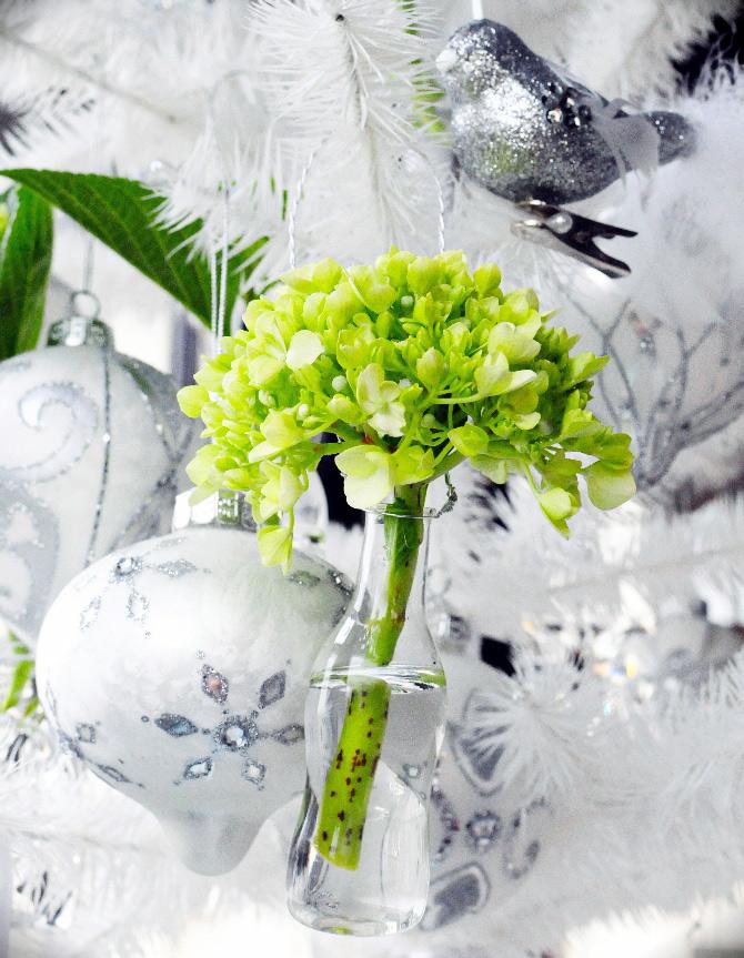adorno natural de Navidad para tu arbol