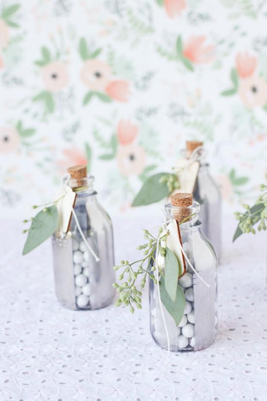 frascos decorados para navidad
