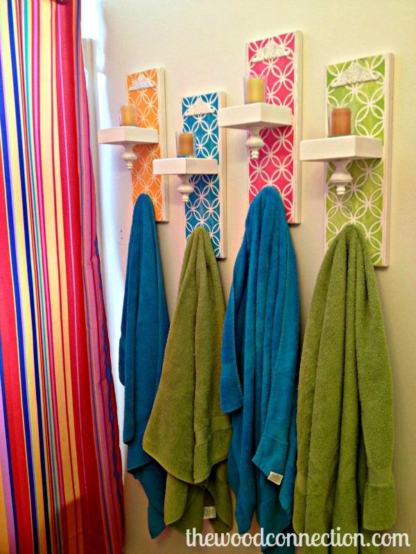 Tutorial hacer toalleros de colores