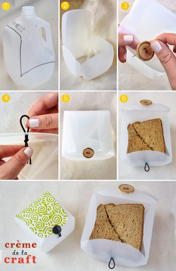 caja sandwich proceso