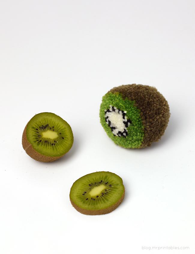 Pompón Kiwi