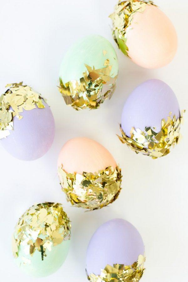huevos con confeti portada