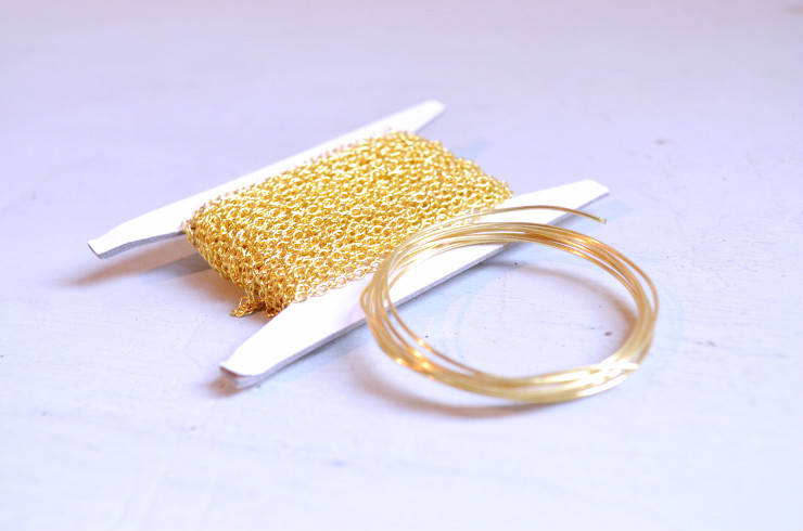 materiales collar