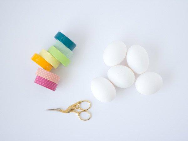 materiales huevos pascua