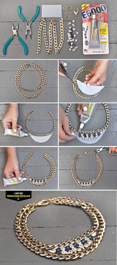 tutorial collar svaroski