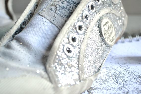 zapatillas glitter