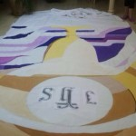 Decoracion Corpus con pintura acrilica Artis
