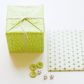 Botones de vestidos para envolver regalos